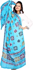 Banjara Women's Kutch Work Cotton Dupatta Chakachak