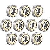 ZHITING Cuscinetti a Sfere 626ZZ 6mm x 19mm x 6mm a Doppia schermatura 626-2Z 80026 Cuscinetti radiali rigidi, Acciaio…