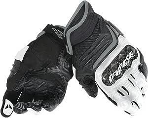 Dainese Carbon D1 Short Handschuhe Schwarz Weiss Anthrazit Größe Xl Auto