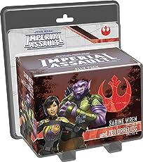 Fantasy Flight Games Star Wars Imperial Assault Sabine Wren & Zeb Orrelios - English
