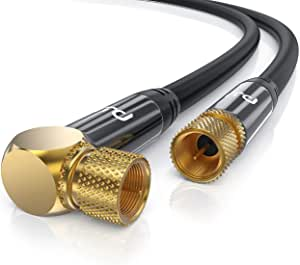 Csl 3m Sat Kabel Hdtv 90 Gewinkelt 135db Premium Elektronik