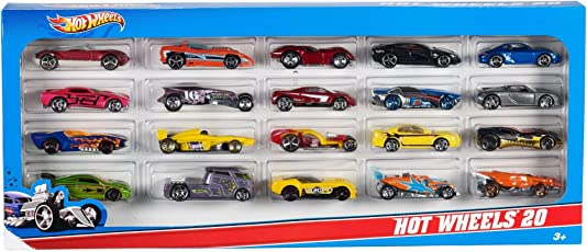 Hot Wheels Mattel H7045 20 Car Gift Pack