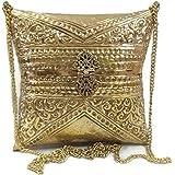 Trend Overseas Women's Clutch (Sling_clutch_04_Gold)