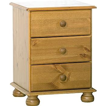 nachttisch nachtkommode beistellkommode nachtkonsole kiefer massiv gelaugt ge lt. Black Bedroom Furniture Sets. Home Design Ideas