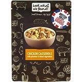 LOOK WHAT WE FOUND Chicken Casserole, Gluten-Free, Protein Meals, 250g (Pack of 12)