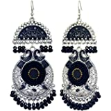 Alysa Premium Export Quality Earring with Matching Meena Moti for Women and Girls