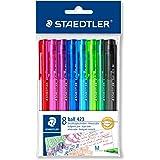 Staedtler 42335MPB8 - Pack de 8 bolígrafos, ball, multicolor, medio
