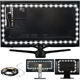 Luminoodle USB Bias Lighting - Ambient Home Theater Light, LED Backlight Strip - 6500K Accent Lighting to Reduce Eye Strain,