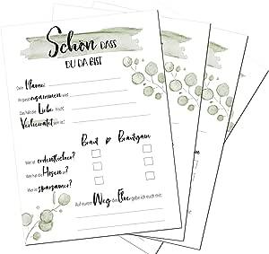 Liebchen Co Hochzeitsspiel 30 Karten Din A5 Alternatives
