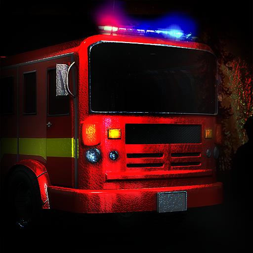 El Cuerpo de Bomberos de camiones: el bombero vehículo de emergencia 911 - edición gratuita