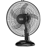 Black+Decker 16 Inch Desktop Fan/table Fan - Black, Fd1620-b5