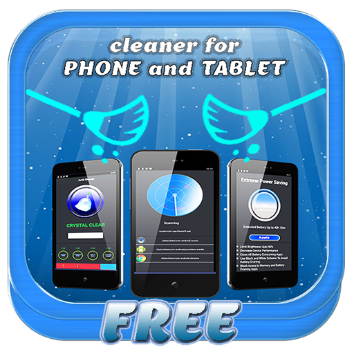 RAM booster & Battery saver and trash cleaner for phone and tablet -