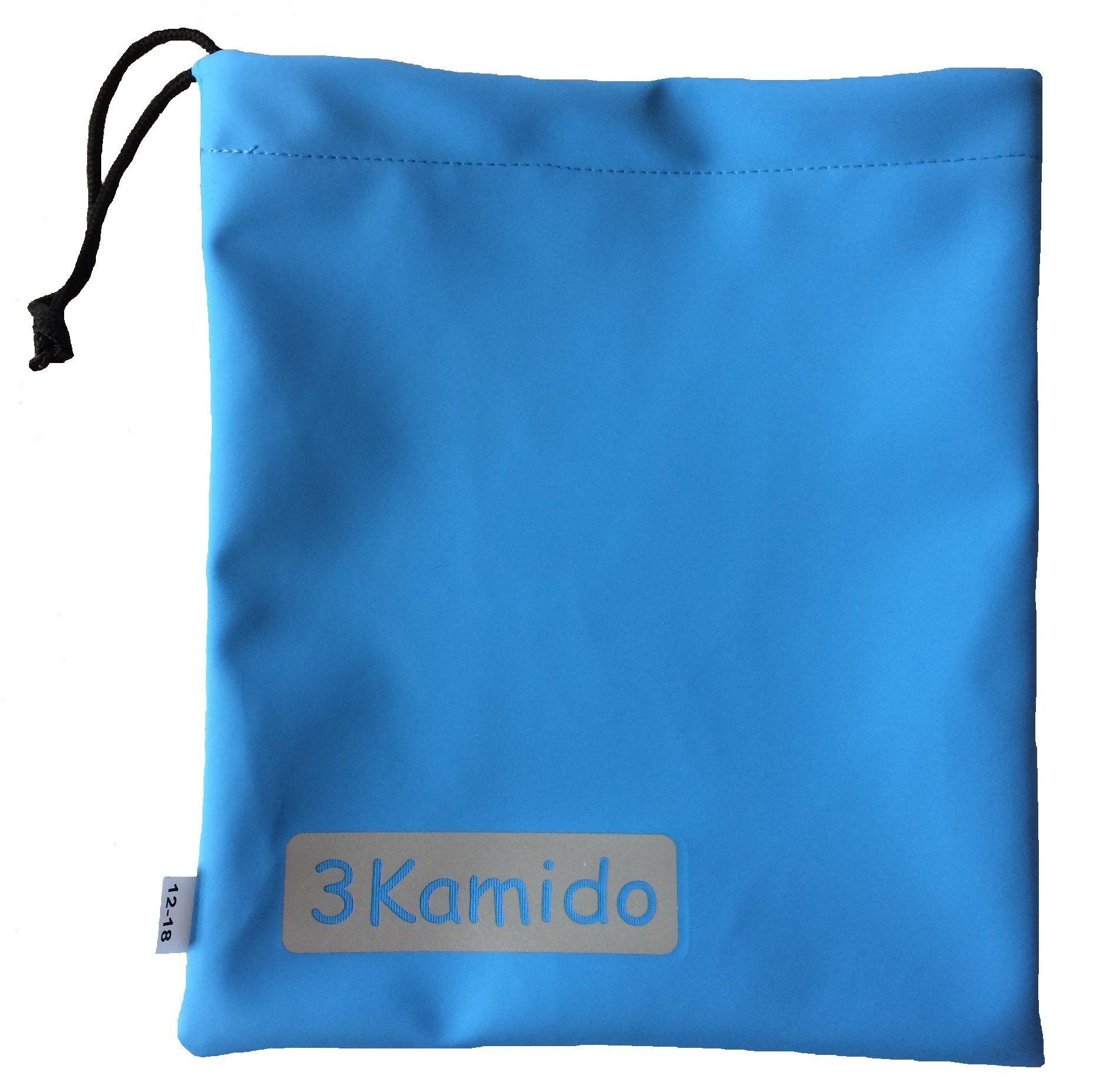 3Kamido® Vadeadores Cangrejo para niños Impermeables Monos de iluvia cosytoes Sacos a Prueba de Viento Niños 4