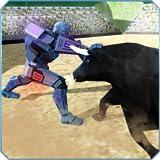 Robot vs toro - gioco del Rodeo di Matador