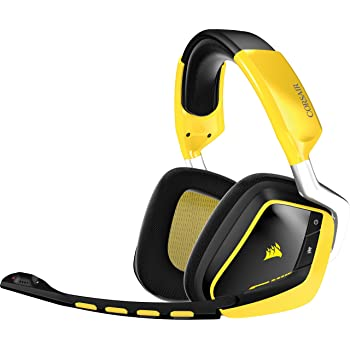Corsair CA-9011135-EU Gaming VOID Wireless SE Yellow Jacket USB sans fil Casque Gaming PC Confortable-Jaune