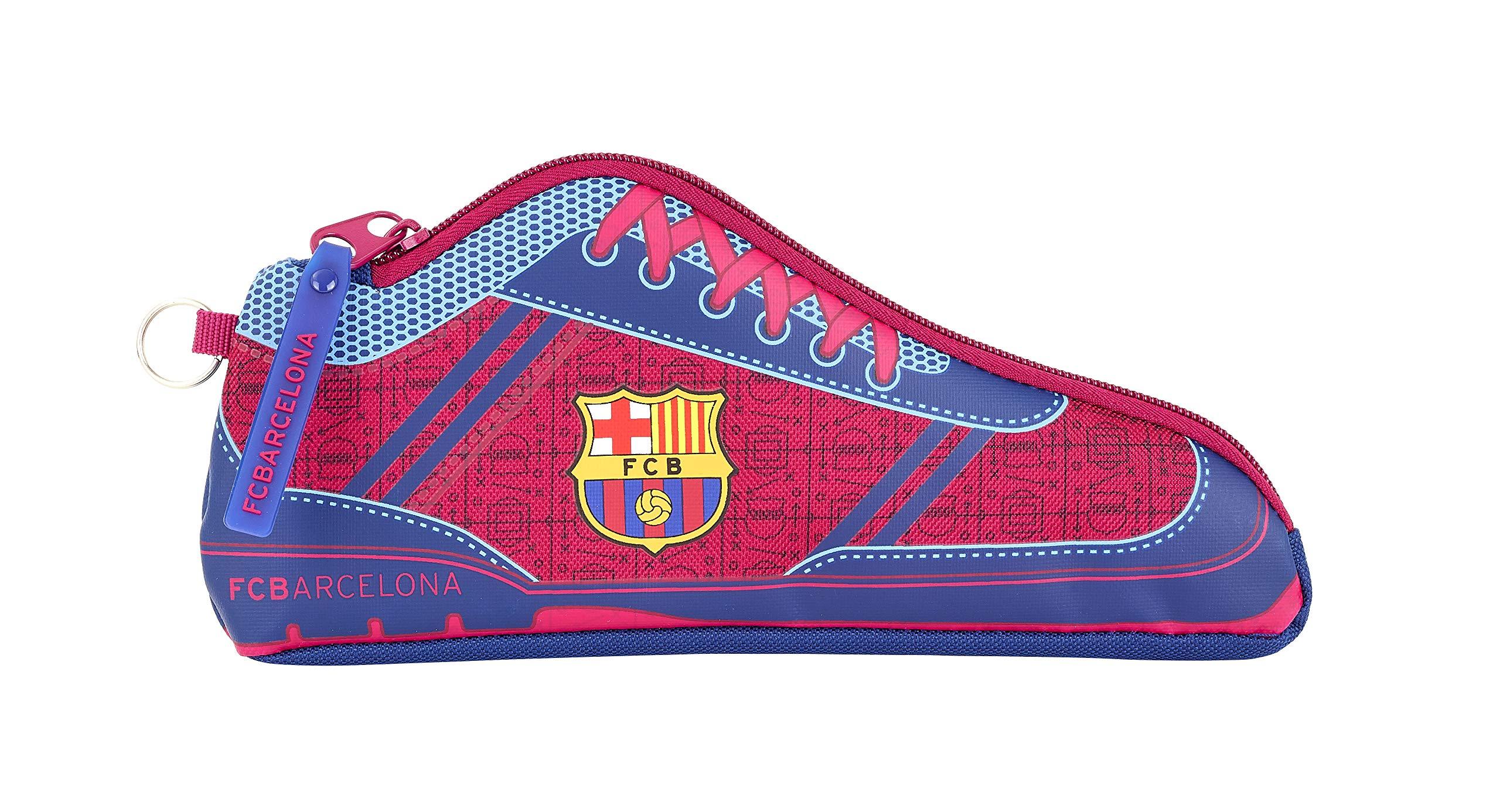 FC Barcelona Corporativa Oficial Estuche Escolar 240x20x100mm