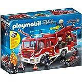 PLAYMOBIL City Action Camión de Bomberos con Luces y Sonido, a Partir de 4 Años (9464)