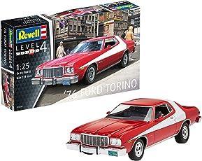 Revell 07038–Modellino Auto 1: 25–'76Ford Torino in scala 1: 25, Level 4, orgin nachbildung ricche di alghe con molti dettagli -