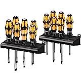 Wera Big Pack 900 Schraubendreher Set Kraftform - Schraubmeißel und Rack, 13-teilig, 05133285001