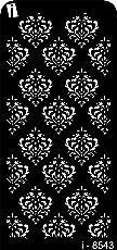 iCraft Decorative Layering Template Stencil (i-8543)