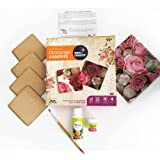 Pidilite Fevicreate Make Your Own Decoupage Coaster Learning Kit for Kids
