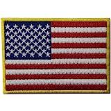 American Flag USA Nazionale Ricamato Il Ferro Su Cucia Sulla Zona