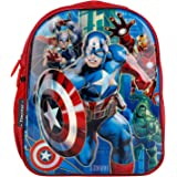 STYLBASE 35 cms School Backpack (ww kids 3d Captain America_Red)