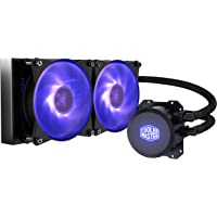 Cooler Master MasterLiquid ML240L RGB All-in-one Liquid CPU Cooler with Dual Chamber Pump Latest Intel/AMD Support