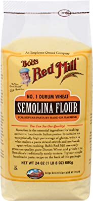 Bobs Red Mill Semolina Pasta Flour, 24 OZ