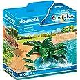 Playmobil Family Fun 70358 - Coccodrillo con Cuccioli, dai 4 anni