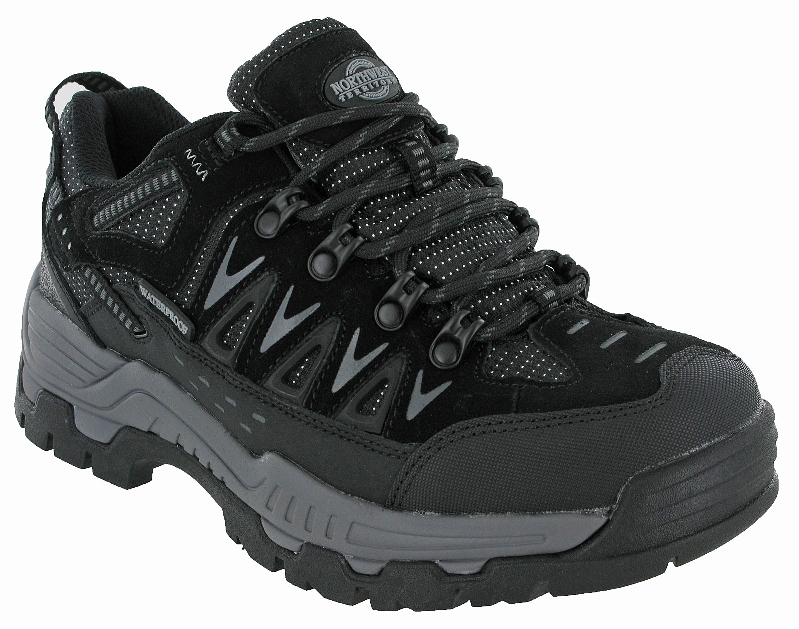 Northwest Waterproof Hiking Shoes Walking Piers Low Cut Trainers 1