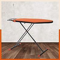 Bathla X-Pres Ace Prime - Foldable Ironing Board with Aluminised Ironing Surface (Orange & Black)