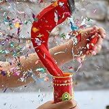Oye Happy - Glitter Bomb - Popper Prank for Friends/Girlfriend/Boyfriend/Siblings to Gift on Birthday