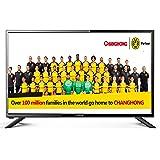 Changhong FHD LED32E4900ST2 80cm (32 Zoll) Full HD LED-Fernseher, Triple Tuner, CI+, H.265, Dolby Plus, [Energieklasse A], Hotelmodell schwarz