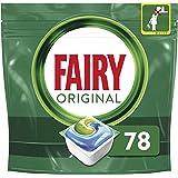 Fairy Original - Tabletas para lavavajillas (78 tabletas)