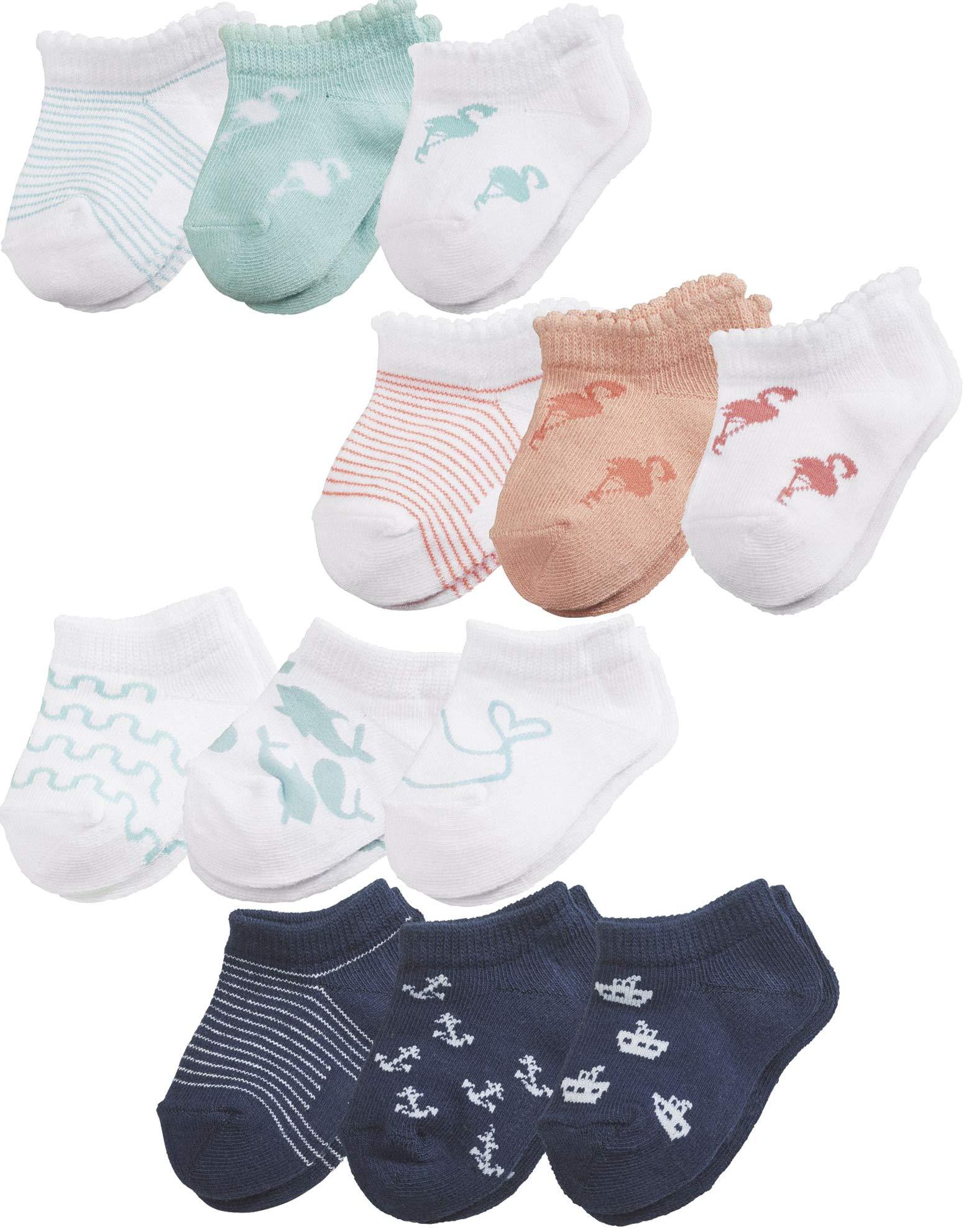 lupilu® 6 Paar Baby Mädchen Jungen Sommersocken Sneaker Söckchen Erstlingssocken