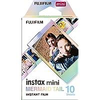 Fujifilm Instax Mini Film Pellicola Istantanea per Fotocamere Mermaid Tail, Formato 46x62 mm, Confezione da 10 Foto