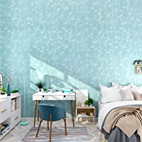 Wolpin Wall Stickers Wallpaper for Home Butterfly Leaves (45 x 600 cm) Living Room Kids Bedroom Decoration Embossed Self…