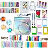 ZWOOS 12-in-1 accessoireset voor Instax Mini 9/Mini 8/Mini 8+/ Mini 8S, inclusief camerabase/selfieLens/Album/Stickers/Frames