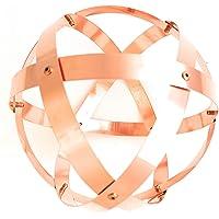 Genesa Crystal, Purificatore energia, Dispositivo orgonico 16 cm diametro, Rame Purissimo