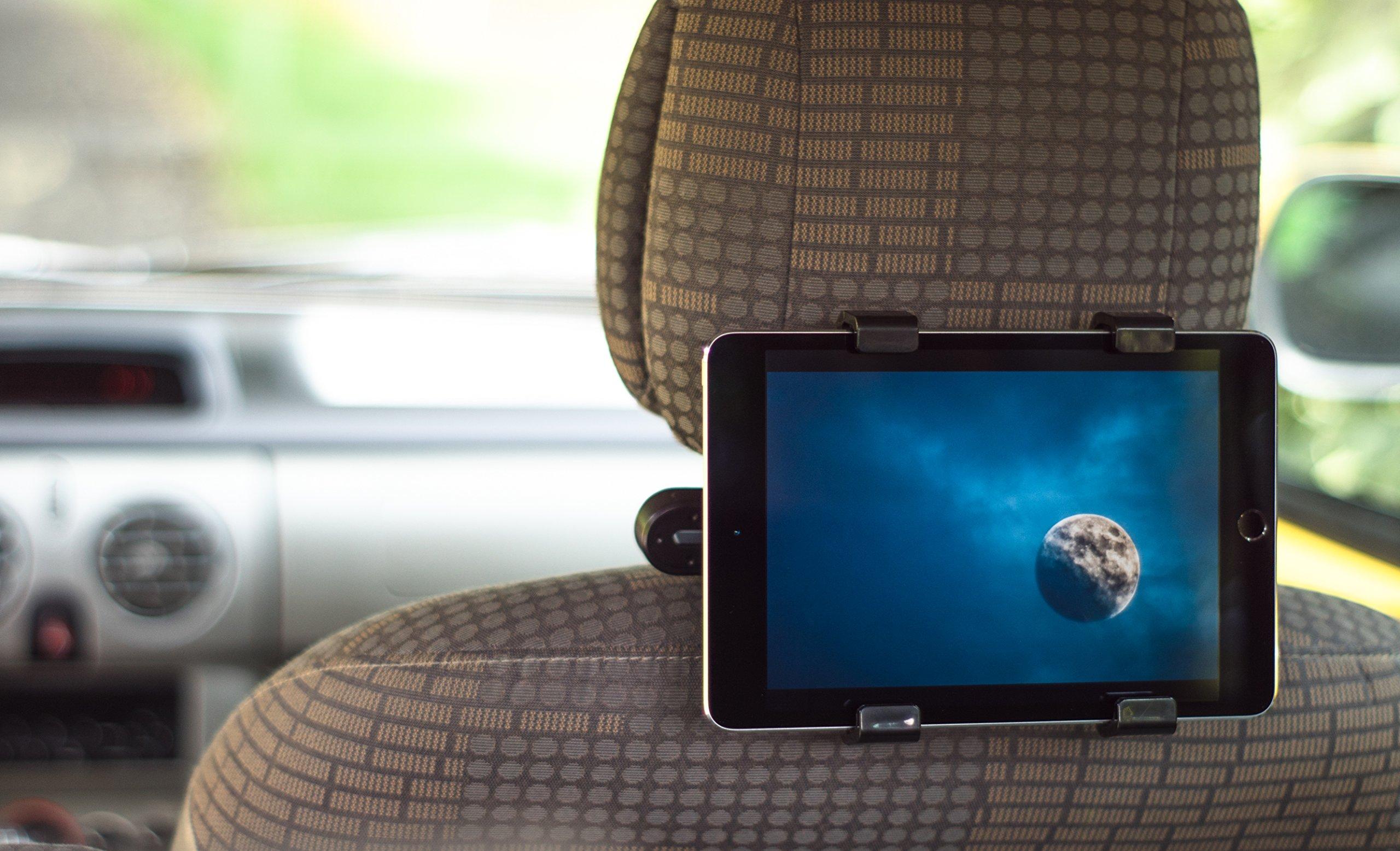 PSTZ-Tablet-Halterung-fr-die-Kopfsttze-im-Auto-fr-iPad-und-Samsung-Galaxy-Tablets-von-7-10-Zoll-Halter-im-KFZ