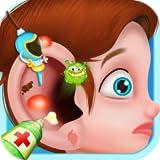 Docteur de l'oreille Jeux d'enfants : devenir le meilleur médecin et chirurgien des oreilles ! Jeu éducatif pour les enfants