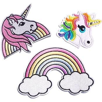 FSMILING 6 St/ück My Little Pony Patches Zum Aufb/ügeln Kinder Set