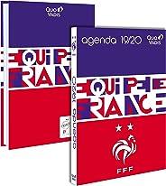 Quo Vadis - Agenda scolaire de Foot FFF - Septembre 2019 à Août 2020 - 12 x 17 cm