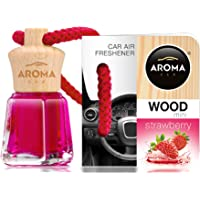 Aroma Car Désodorisant Mini Wood Fraise 4Ml