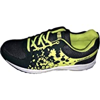 HCH Black Sports Running Shoes for Men and Boys