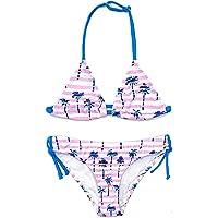 SHEKINI Costumi da Bagno Bambine Due Pezzi Carino Stampati Triangolo Bikini Regolabile Halter Costume Ragazze Due Pezzi…