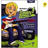 Jimmy! Der Gitarren-Chef ist eine E-Gitarrenschule von Rue Protzer für Kinder im Alter von 6 bis 12 Jahren - mit Play…