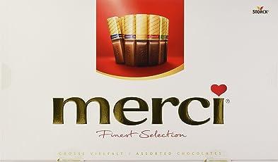 merci Finest Selection – Große Vielfalt – das Dankeschön von Herzen – erlesene Schokoladen-Spezialitäten – 2er Pack (2 x 400 g)