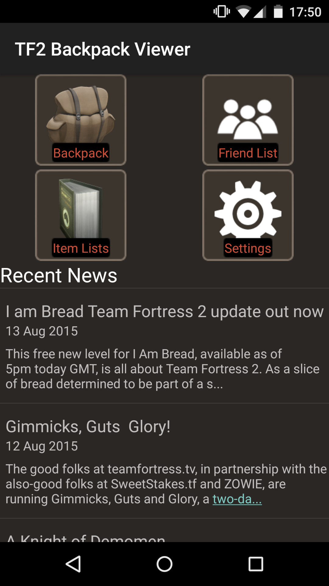 Tf2 Backpack Viewer Amazoncouk Appstore For Android
